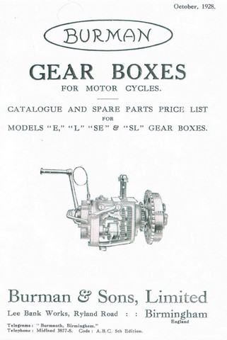 burman gearboxes spare parts